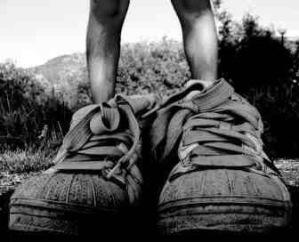 small feet, big shoes