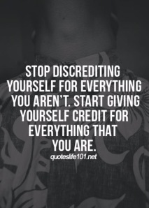 Give yourself credit quotes